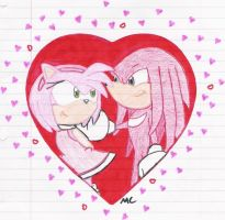 My Little Lover Boy - KnuxAmy by NestTheEchidna