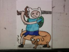 ADVENTURE TIME! by shawncomicart