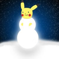 Merry Pikachu by InTotalDenial