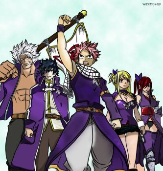 Team Fairy Tail :3 by Winry4010