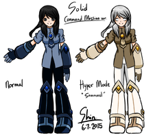 Solid - Command Mission armour revised by Shinryuu-Uroborus