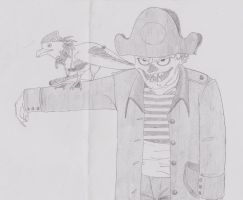 zombie pirate by DOLARES12