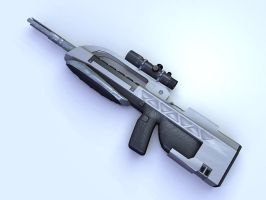 Battle Rifle by flamingbs