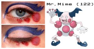 Pokemakeup 122 Mr.Mime by nazzara