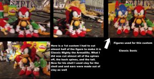 Classic Mighty the Armadillo custom by DominicSega123