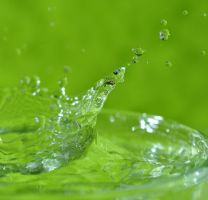 A Green Splash... by ebuisan