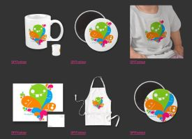 Zazzle Products 4 by BloodAppleKiss