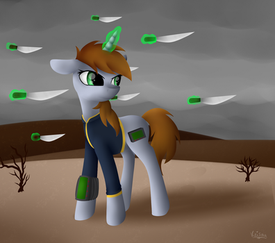 Littlepip *Fallout: Equestria* by Keisaa