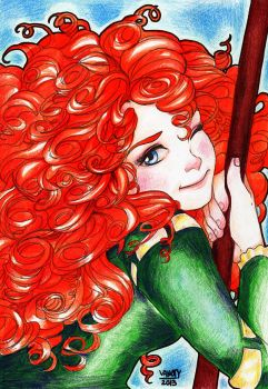 Merida Commission by vanoty