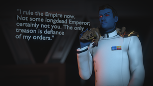 Grand Admiral Thrawn  (Star Wars) by RuslanLarin92