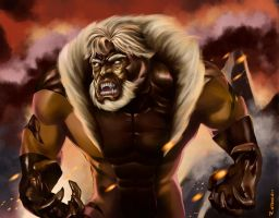 Sabretooth by aerlixir