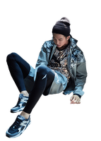 {PNG/Render #173} Rap Monster (BTS) by Larry1042k1