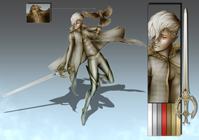 (CLOSED) - Elf Prince Adoptable #044 by Timothy-Henri