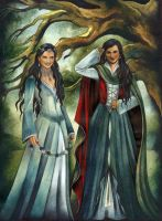 Arwen's Daughters by ebe-kastein