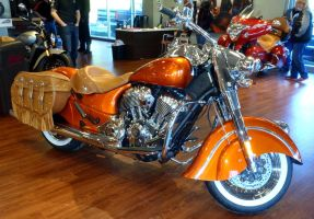 2015 Indian Chief limited edition by Caveman1a