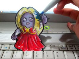 Paperchild 197.Pokemon#124 - Jynx by FuriarossaAndMimma