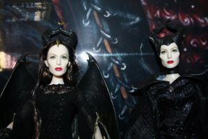 ROYAL and DARK MALEFICENT close up by angela808