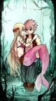 Mermaid [NaLu] by LeonS-7