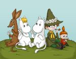 Moomin and the Daisies by Lilnanny