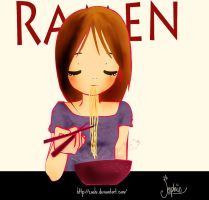 Day 3 Favorite Food RAMEN by Zoehi
