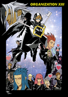 Organization XIII by outsiderinbrianza