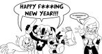 Happy New Year's 2012 by ChaosCroc