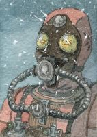 Black Ops Call of the Dead Scuba Zombie by DonMatthews