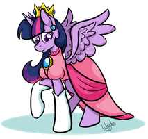 Princess Twilight Peach by Ask-Wiggles