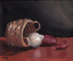 Onions still life by XOLGY