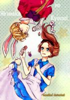 Hirunaka no ryuusei - Alice in the wonderland by IAMeikoD