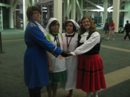 Anime Expo: Family Reunion by punkanimelover