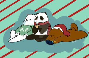 We Bare Bears by Calico-co
