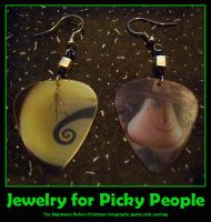 NBC Picky People earrings by estranged-illusions