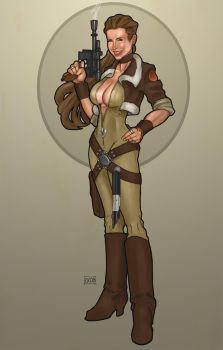 Nikole Moria- Jedi turned smuggler by Dunlaoch