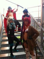 Gurren Lagann Cosplay Group by RedAceCosplay