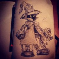 Vivi Final Fantasy IX by ErickSCorleone