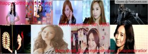 happy birthday kwon yuri facebook cover 1 by alisonporter1994