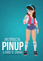 PinUp Doll by alenet21tutos
