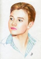 Chris Colfer by Alienablackmores