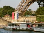 Vedettes de Paris dock by EUtouring