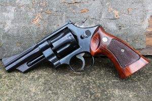 Smith and Wesson Model 28: Highway Patrolman by PLutonius