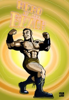 Flex Mentallo Hero of the beach Color by Ziggyman