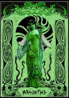 Green Absinthe Fairy by Pearllight180