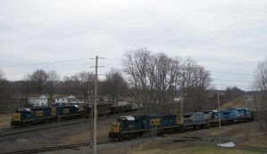 CSX In Lordstown, Ohio by LDLAWRENCE