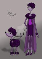 The Poodle Woman by mashashy