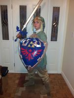 Link Cosplay done by Rora-at-Dawn