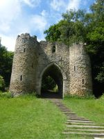 Castle Gateway Stock 1 by Queenselphie
