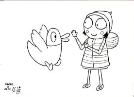 Sarah and Duck 2 by FFF66
