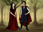 Snow White and Prince Charming by Kailie2122