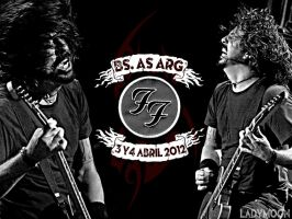 Foo Fighters Buenos Aires 3.4/4/2012 by Pompelina
